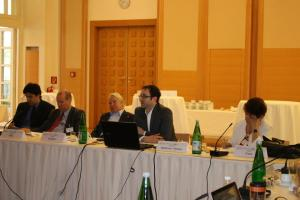 Speaking at the Milton H. Wolf Seminar on Media and Diplomacy, April 2013